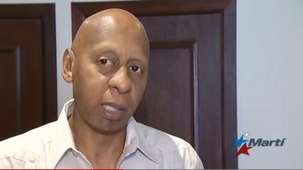 Guillermo Fariñas durante el Encuentro Nacional Cubano, en Puerto Rico. (Martí Noticias)
