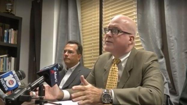 """Gutiérrez calificó la presentación del informe en Ginebra como una """"farsa manipulada"""". (Captura)"""