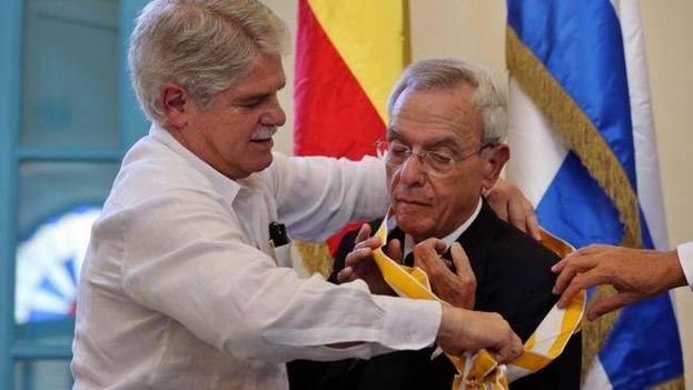 Eusebio Leal recibe de España la Orden de Isabel la Católica ...