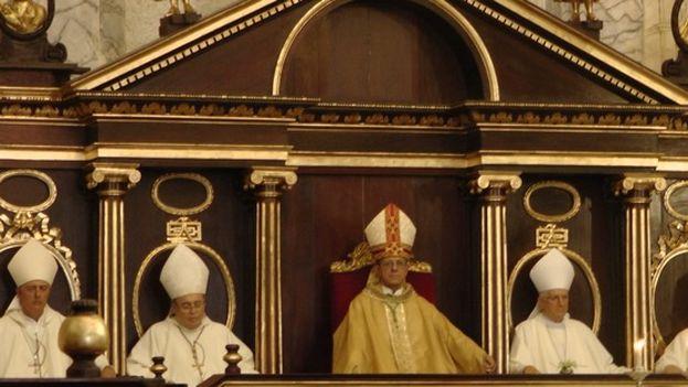 El nuevo arzobispo de La Habana, Juan de la Caridad García Rodríguez en la Misa de toma de posesión (14ymedio)