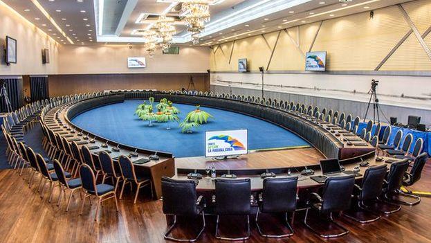 El hotel Tryp Habana Libre acogió el encuentro entre los delegados de la OMT para las Américas. (Melia)