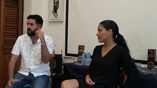 Haydée Milanés hizo el lanzamiento de su disco Amor Deluxe en La Habana. (14ymedio)