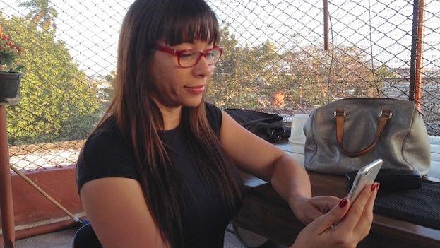 Iliana Hernández. (14ymedio)