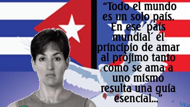 Imagen de campaña por la liberación de Ana Belén Montes. (Facebook)