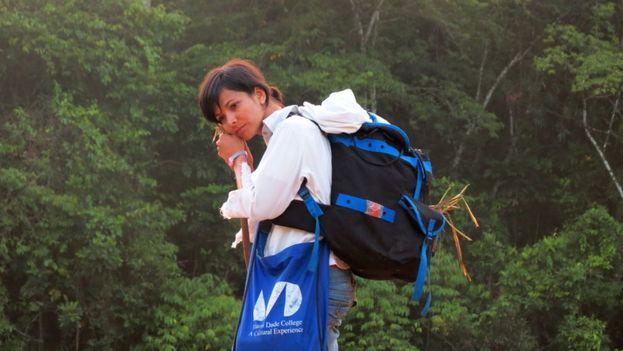 Inalkis Rodríguez, activista medioambiental y colaboradora de La Hora de Cuba. (CC)