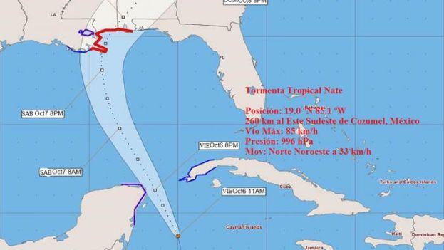 Establecen fase informativa en parte de occidente cubano por tormenta