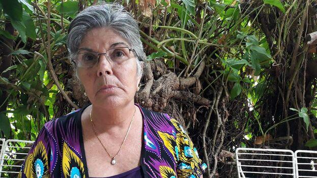 Isabel Cristina Cabello, a punto de cumplir 60 años, busca justicia para su hija y denuncia que ha recibido a una respuesta satisfactoria a sus quejas. (14ymedio)