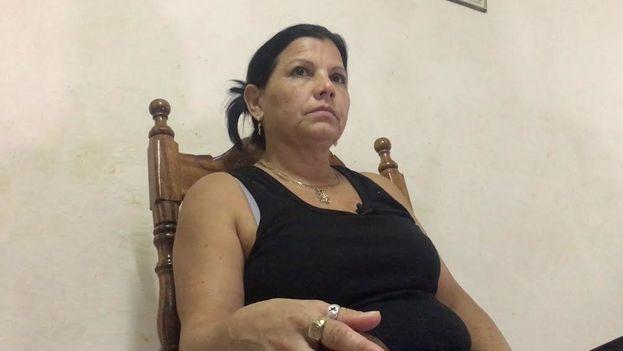 Ismari Brizuela Fonseca ha vivido un largo calvario de agresiones físicas y amenazas. (14ymedio)