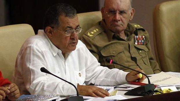 Adel Izquierdo Rodríguez se desempeñaba como Ministro de Transporte del 2015. (Ecured)