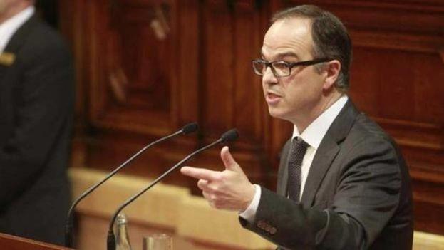Jordi Turull ha sido encarcelado junto a otros cuatro dirigentes independentistas catalanes. (EFE)