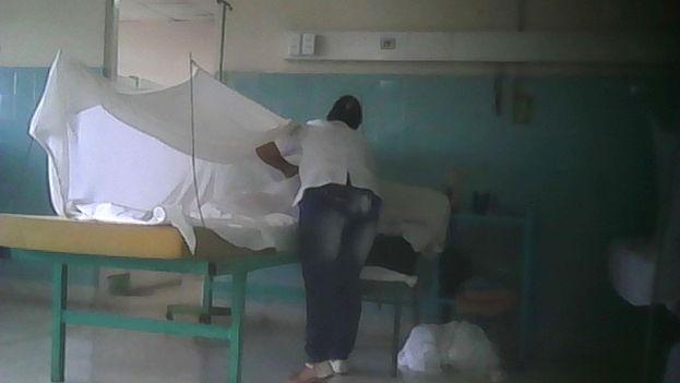 Una sala del hospital Juan Bruno Zayas de Santiago de Cuba. (14ymedio)