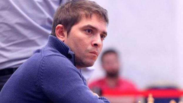 Lázaro Bruzón durante un torneo. (Granma)