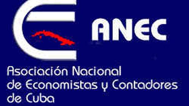 Logotipo de la Asociación Nacional de Economistas y Contadores de Cuba.