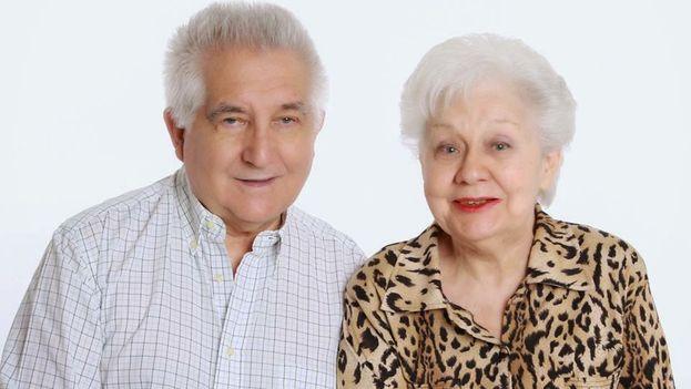 Loly Buján en junio de 2014 junto a su esposo, Pedraza Ginori. (El blog de pedraza Ginori)