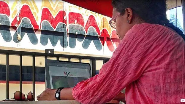 Luz Escobar trabaja en '14ymedio' desde su fundación, a principios de 2014. (14ymedio)