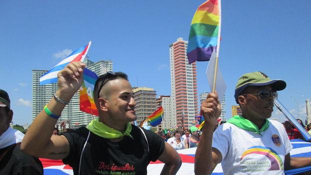 Marcha contra la homofobia y la transfobia en Cuba (14ymedio)