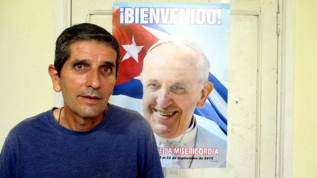 Marcos Pirán Gómez, sacerdote principal de la Iglesia de San José en la ciudad de Holguín