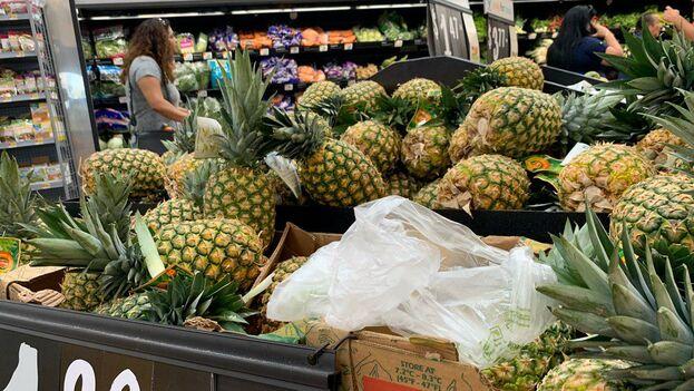 Mercado en Miami, sur de la Florida, Estados Unidos. (14ymedio)