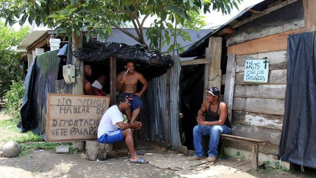 Migrantes cubanos varados en Colombia. (Archivo)