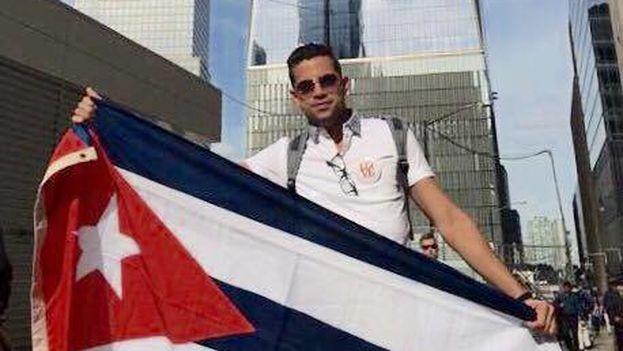 Milkos Danilo Sosa Molina, joven cubano residente en Miami responde a Randy Alonso. (Cortesía)