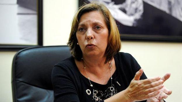 La directora general para Estados Unidos del Ministerio de Relaciones Exteriores de Cuba, Josefina Vidal. (EFE)
