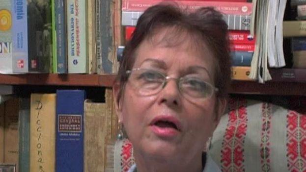 Miriam Leiva en una entrevista en 2012