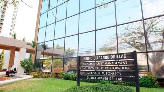 El edificio donde está ubicado el bufete Mossack Fonseca del caso Panamá Papers. (EFE)
