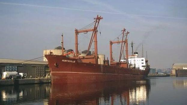 Motonave 'Huntsville', construída en Japón en 1971 y que formó parte de la Marina Mercante de Cuba. (Webmar)