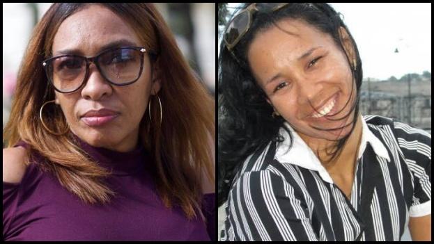 Las activistas Nancy Alfaya y Marthadela Tamayo fueron detenidas durante seis horas este viernes. (Collage)