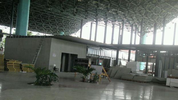 Nueva Terminal de Ómnibus Nacionales en Santiago de Cuba. (14ymedio)