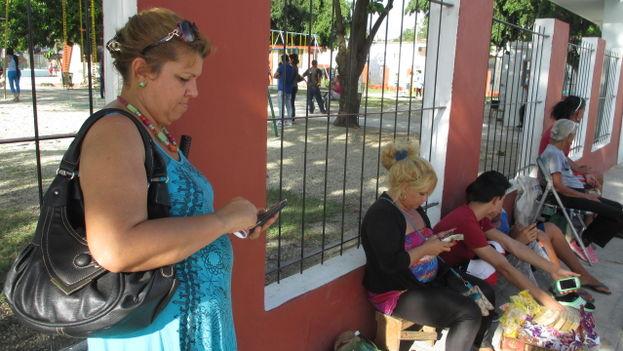 Nuevo punto wifi de Holguín. (Fernando Donate Ochoa)