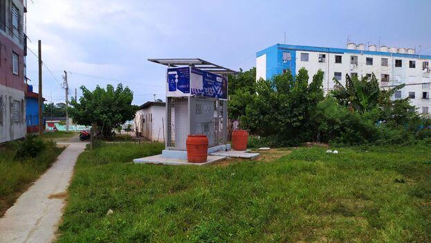 Nuevos gabinetes de Etecsa en la ciudad de Sancti Spíritus. (14ymedio)
