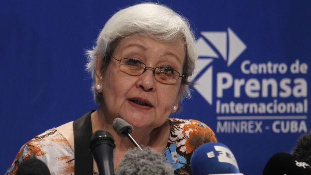 La relatora de la ONU, Virginia Dandán, evitó este viernes pronunciarse sobre los derechos humanos en Cuba argumentando que esas cuestiones no entran dentro de los parámentros de su mandato. (EFE)