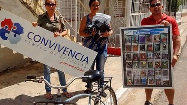 Objetos devueltos a Karina Gálvez en esta segunda entrega posterior a su detención el pasado enero. (Convivencia)