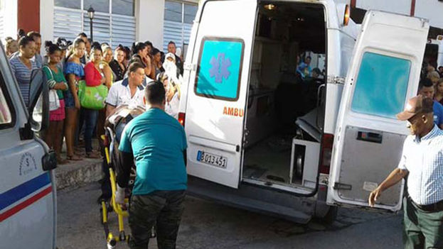 El accidente ocurrió en una zona conocida como La Paloma, ubicada en la carretera camino de Santa Clara. (Radio Arimao)