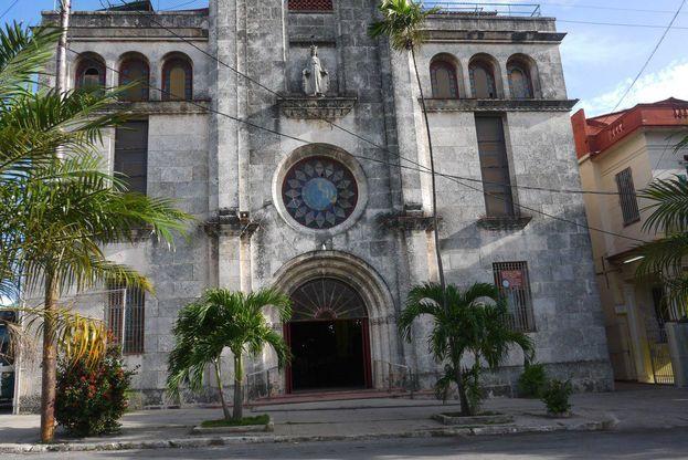 Parroquia La Milagrosa, en La Habana. (14ymedio)