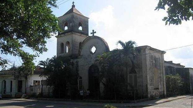 Parroquia de Nuestra Señora de la Candelaria, en el municipio Candelaria de Artemisa (Foto CC)