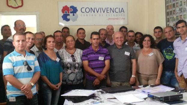Participantes en en el segundo Encuentro del Itinerario de Pensamiento y Propuestas para Cuba. (Convivencia)