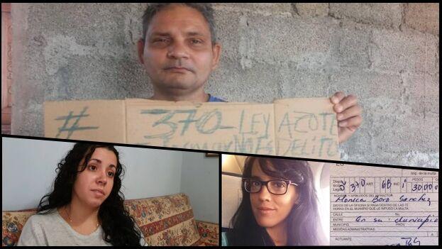 Periodistas, activistas y artistas han sido amenazados o penalizados con el Decreto Ley 370. (Collage)