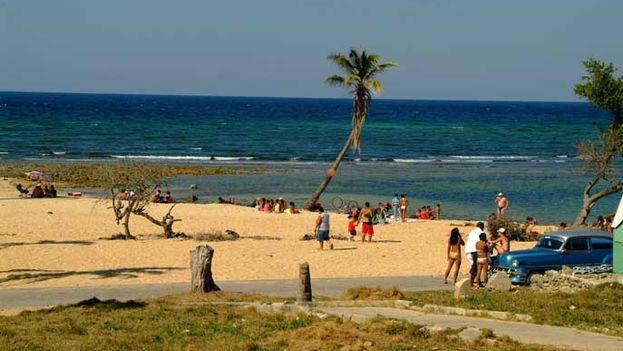 Playa Baracoa.