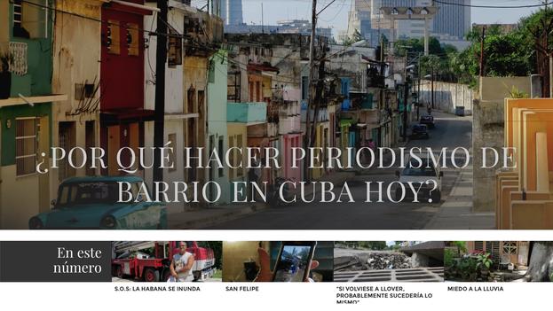 Portada con la que se presenta 'Periodismo de Barrio'