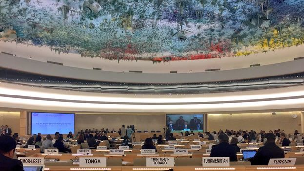 Presentación de Cuba en el Examen Periódico Universal en Derechos Humanos ante la ONU. (@RosaMariaPaya)
