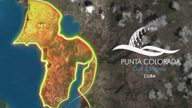 Proyecto de campos de golf en Punta Colorada. (CC)