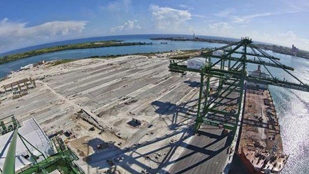 Puerto de Mariel, en Cuba. (Twitter)
