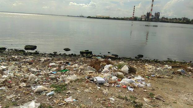 Punta Cotica, en las inmediaciones de la termoeléctrica, es uno de los barrios más contaminados de la ciudad. (14ymedio)