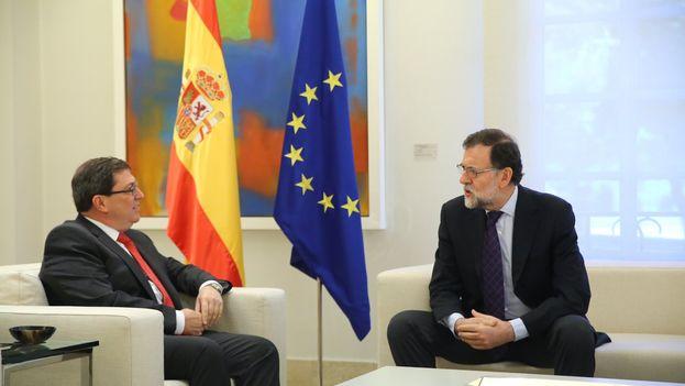 Rajoy y Bruno Rodríguez. (@marianorajoy)