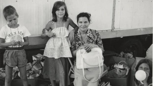 Refugiados cubanos que llegaron a Miami durante el éxodo del Mariel. (UM Cuban Heritage Collection)