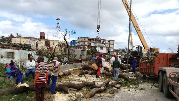 Así ha quedado La Habana tras el paso del tornado