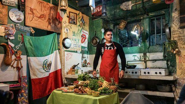 Restaurante privado en Varadero. (Tom Hart)
