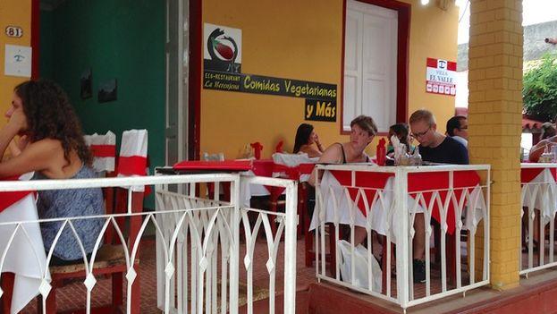 Restaurante La Berenjena en la localidad de Viñales, Pinar del Río. (14ymedio)
